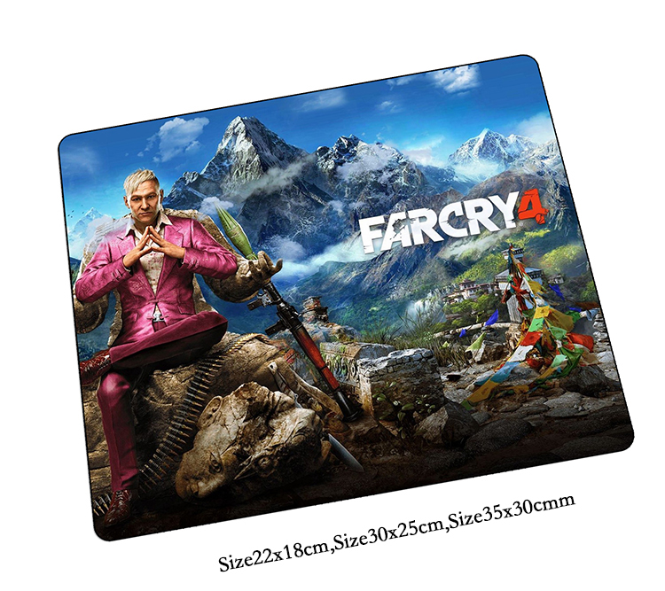Far cry mouse pad Noel hediyeleri mousepads oyun mouse pad gamer padmouse Renkli büyük kişiselleştirilmiş mouse pad klavye pedi